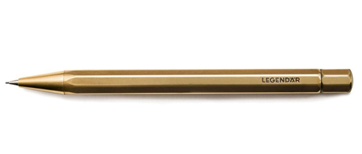 LGNDR Brass Twist Pencil